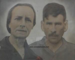 Adelina Granados Quesada (1887-) y Eliseo Morera Lobo (1883-).