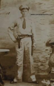 Retrato de oficial de la fuerza pública. Sin fecha.